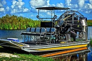 1 hour everglades semi private airboat tours
